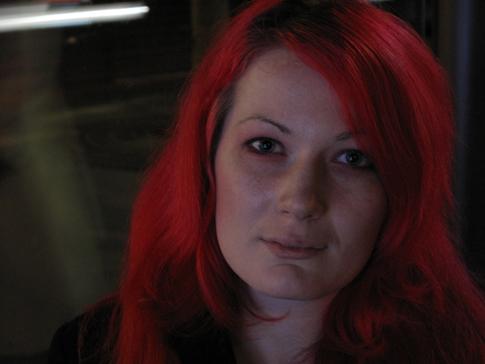 9c24 Callejeo nocturnos chica pelo rojo señora y señorita gafas020 Uti 485