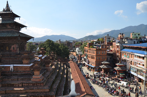 Durbar Square of Hanuman Dhoka in Kathmandu, Nepal, was affected in Saturday's earthquake. This picture is from 2014.