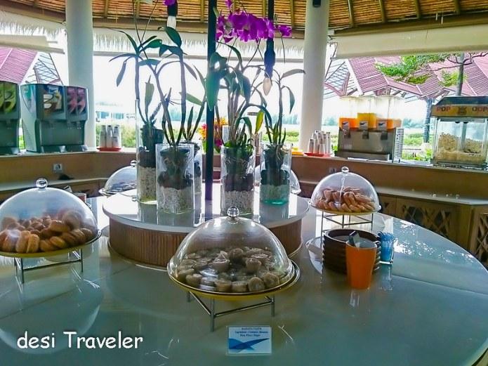 Snacks at Koh Samui Airport