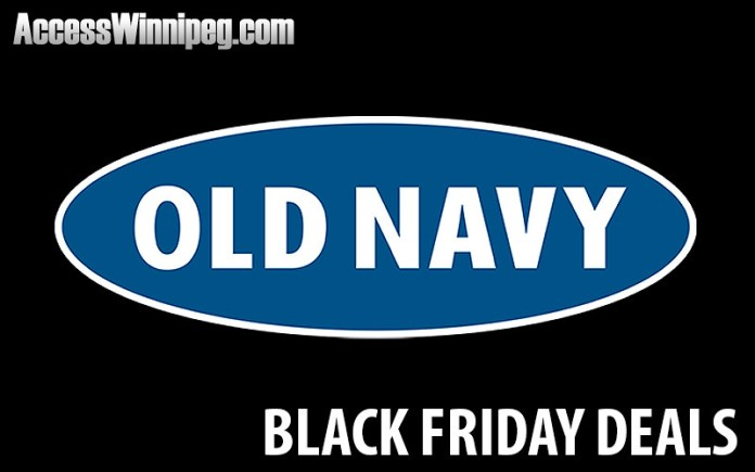 Old Navy Canada Black Friday Deals 2017