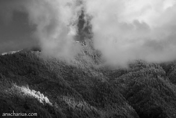 Tenerife Clouds - Nikon 1 V1 - Infrared 700nm