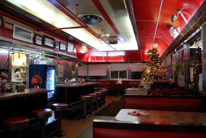 Interior of Jack's Diner, Albany, New York - Copyright Greg