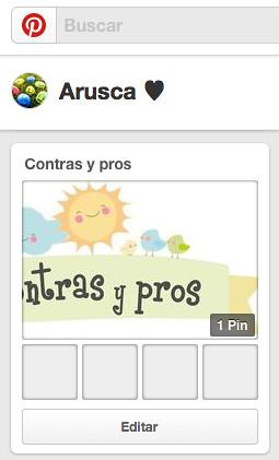 Pinterest, Contras y pros, tablero grupal, blog