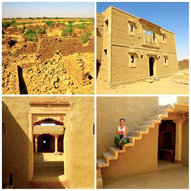 Pueblo fantasma en Jaisalmer