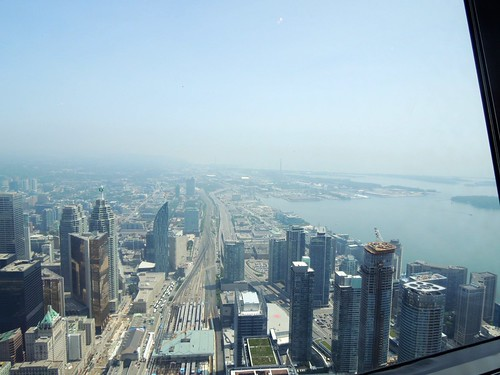 View from 360 The Restaurant, CN Tower
