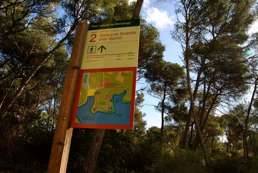 Parque Natural de Mondragò. Enero 2015