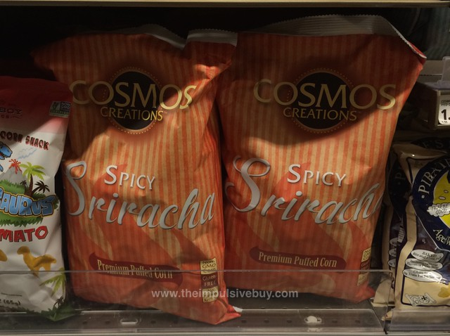 Cosmos Creations Spicy Sriracha Premium Puffed Corn