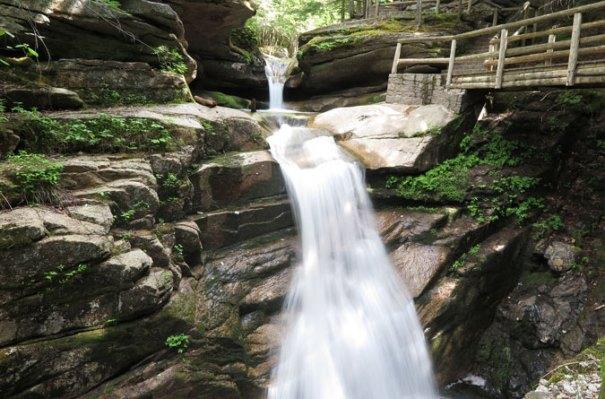 Sabbaday Falls Front View