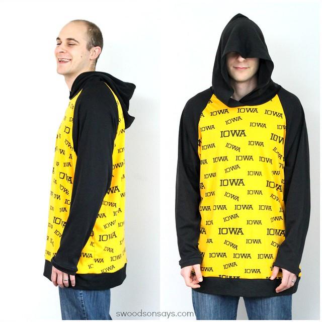 Men's Hooded Shirt Sewing Pattern