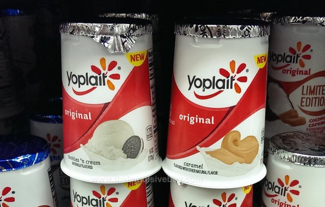 Yoplait Original Cookies 'n Cream and Caramel