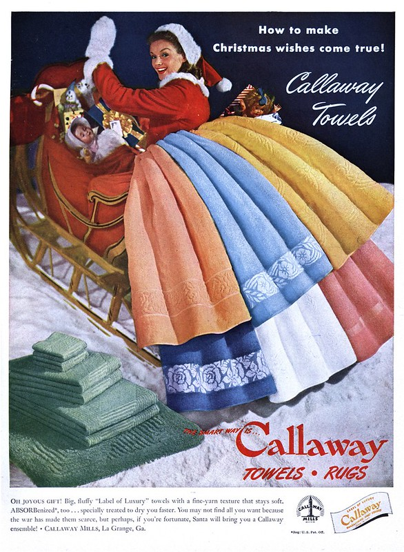 Callaway Mills - published in House Beautiful - December 1945