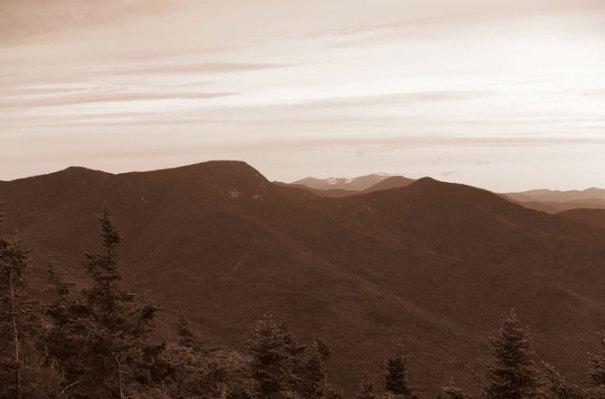 Mt. Tecumseh Summit Sepia Osceola