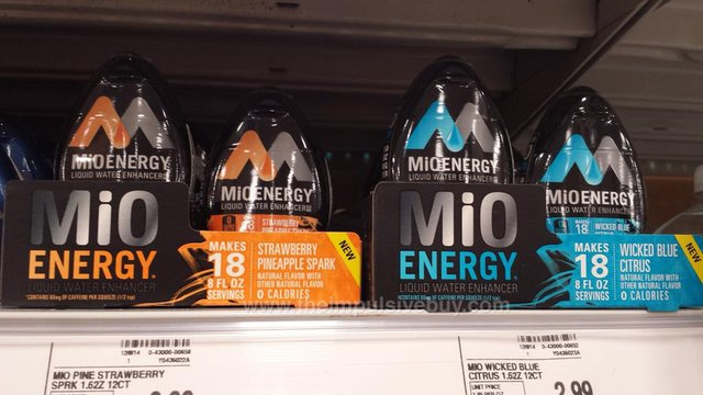 MiO Energy Strawberry Pineapple Spark and Wicked Blue Citrus
