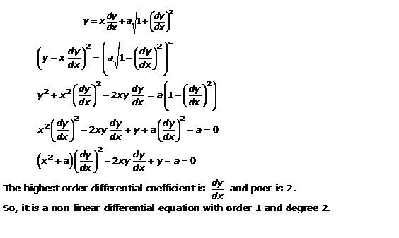 RD Sharma Class 12 Solutions Chapter 22 Differential Equations Ex 22.1 Q18