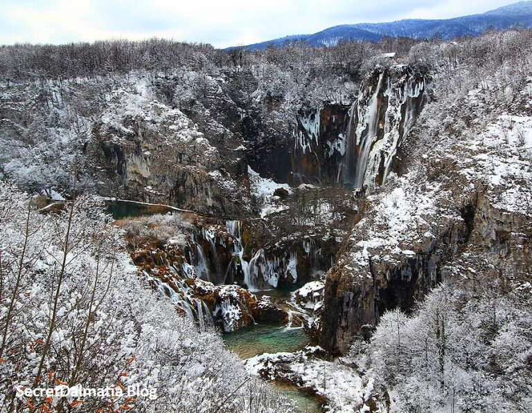 The Big Waterfall in the winter