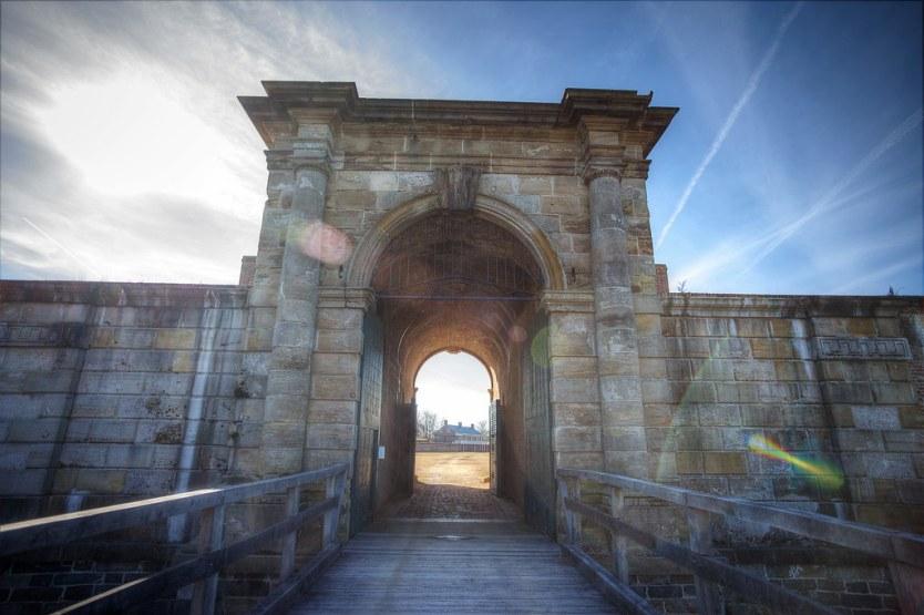 Main Gate, Fort Washington