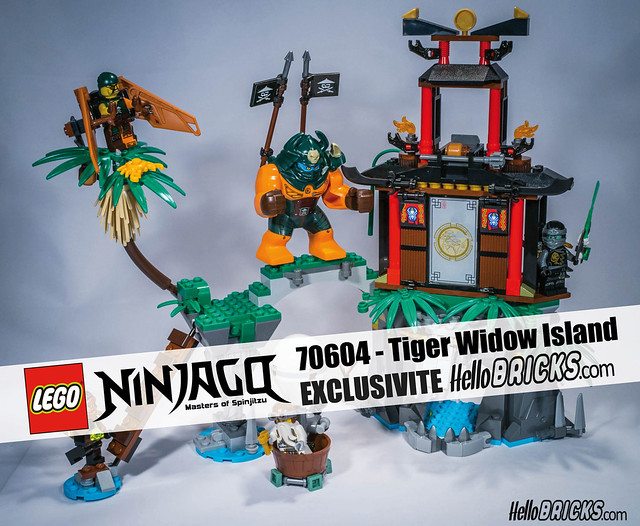 REVIEW LEGO Ninjago 70604 HelloBricks