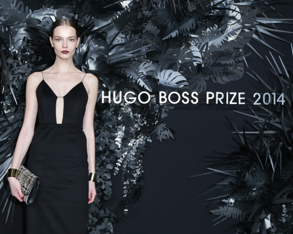 Mina Cvetkovic attends the Hugo Boss Prize 2014 Event at the Guggenheim Museum New York
