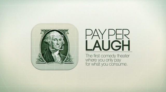 pay per laugh presentation
