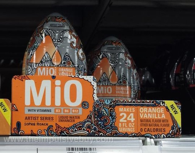 MiO Orange Vanilla Liquid Water Enhancer