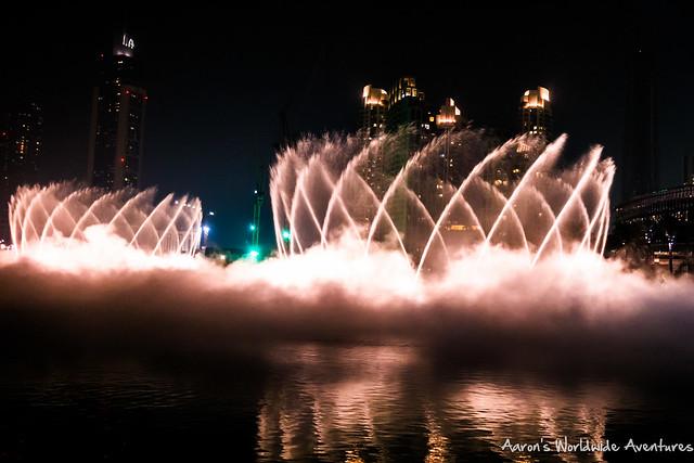 Dubai Fountan