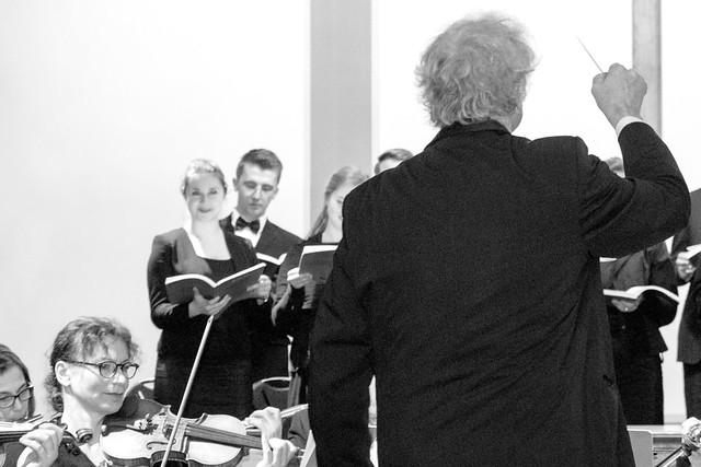 Der Dirigent (s/w)