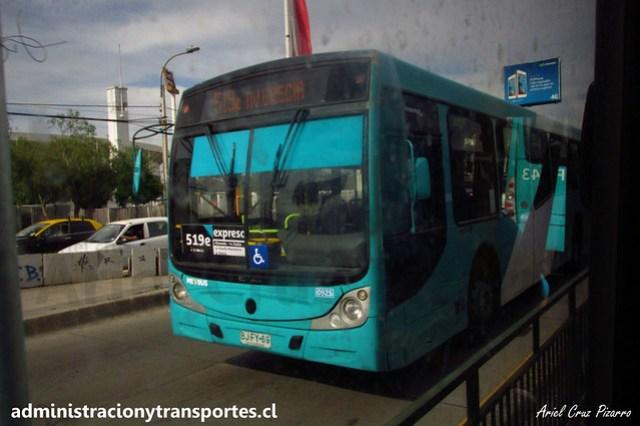 Transantiago - 519e | Metbus | Caio Mondego H - Mercedes Benz (BJFY69)
