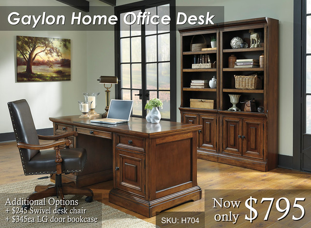 Gaylon Home Office Desk - Priced