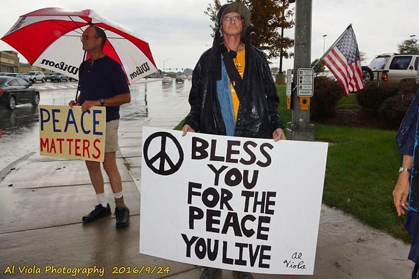 Omaha, NE Peace Vigil - CNV 2016 (8)