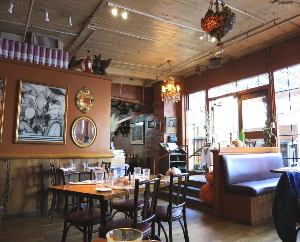 Pink Door Restaurant Interior