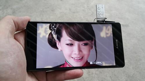 Sony Xperia Z3 ดูคลิปวิดีโอ 4K สบายๆ แถมรองรับ USB OTG