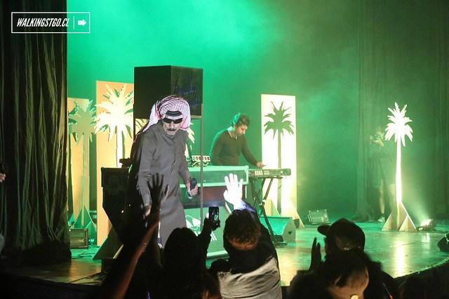 #OmarSouleyman en el ciclo #BailaBaila en el #TeatroLaCúpula by Fauna y Macarena Club / #ParqueOHiggins #Santiago #Chile