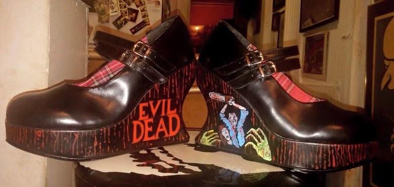Evil Dead Shoes