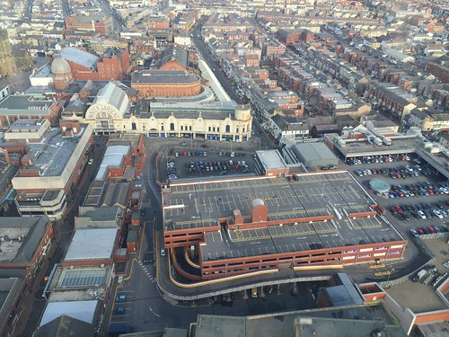 The view from Blackpool Tower