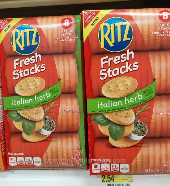 Nabisco Ritz Italian Herb Fresh Stacks