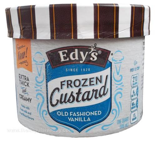 Edy's Old Fashioned Vanilla Frozen Custard