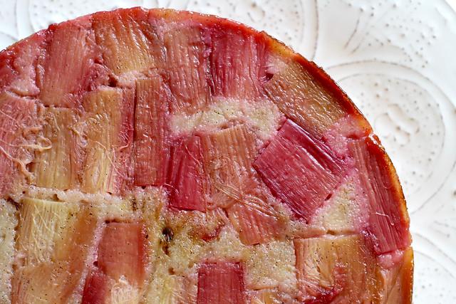 Rye & Rhubarb Cake - 36