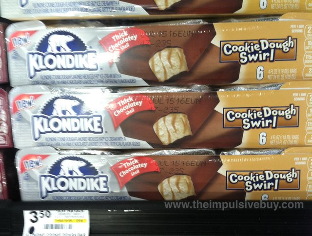 Klondike Cookie Dough Swirl Bar