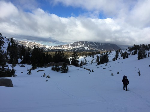 The hike out from Carson Pass
