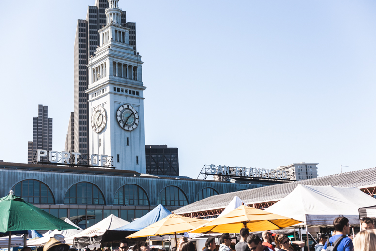 sf // ferry building farmer's market