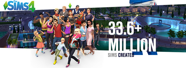 Infographic The Sims 4 May 2016
