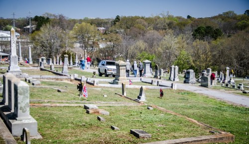Laurens Cemetery Tour-5