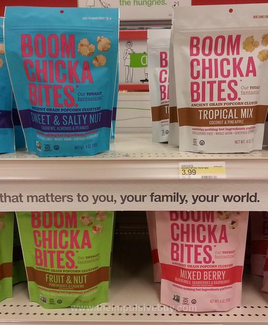 Boom Chicka Bites Ancient Grain Popcorn Clusters