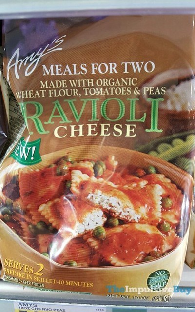 Amy's Meals for Two Ravioli Cheese