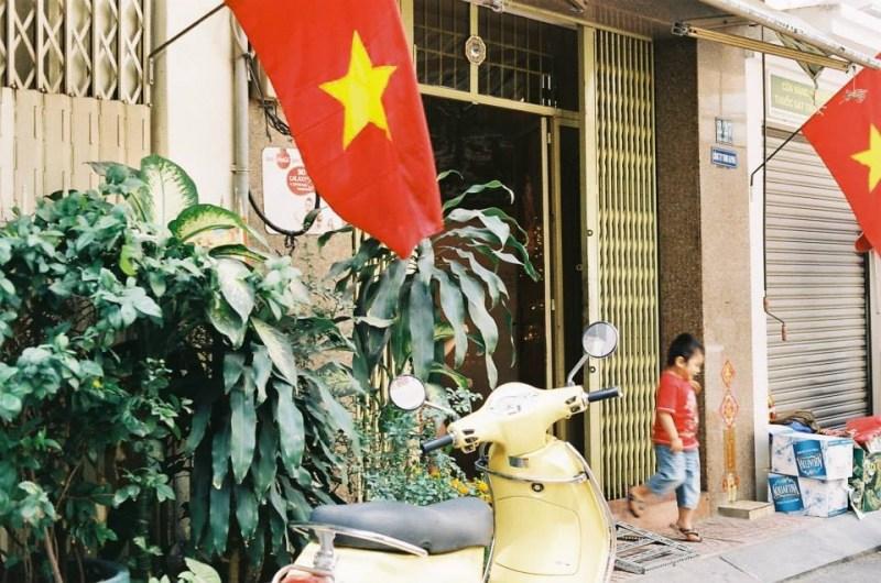 HCMC back street