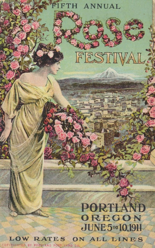 Portland Rose Festival postcard - Portland, Oregon U.S.A. - 1911