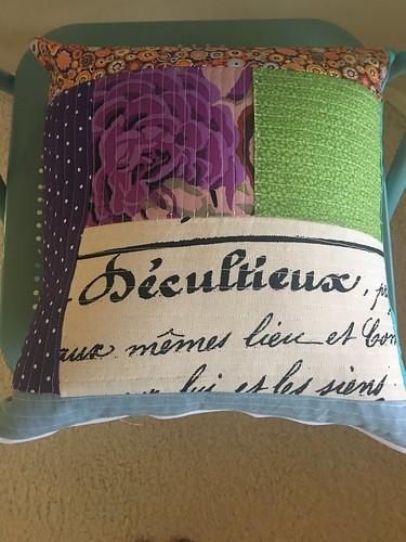 Cuba room pillow for Lisa. Www.africankelli.com