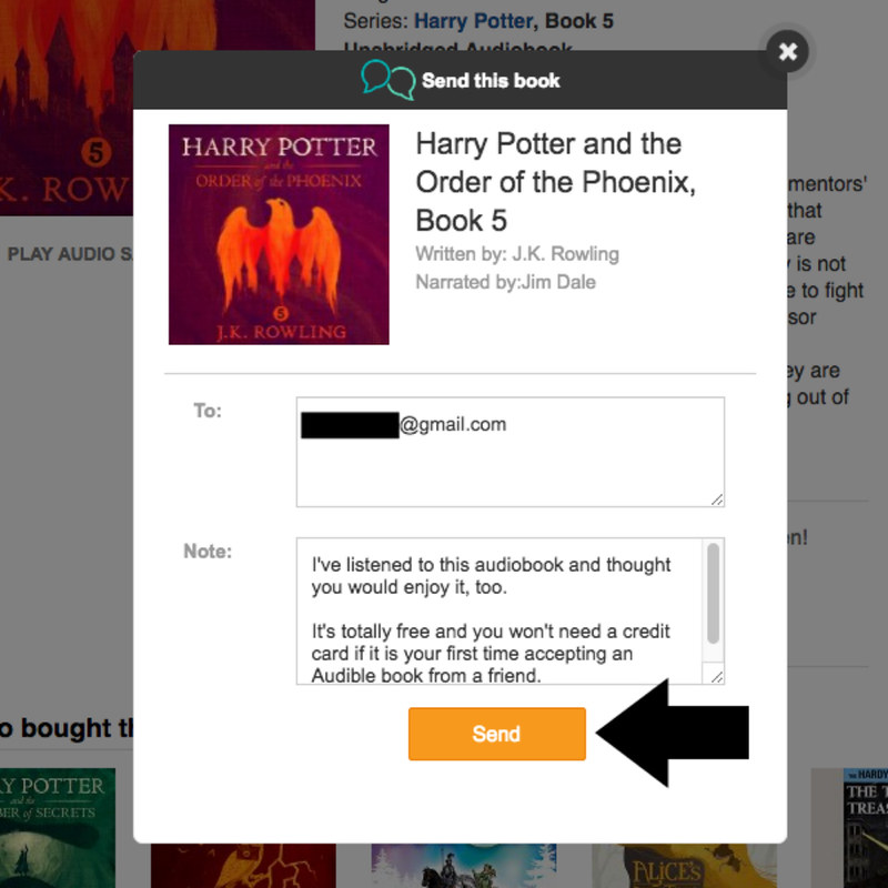 How to share your Audible books with friends and family for free