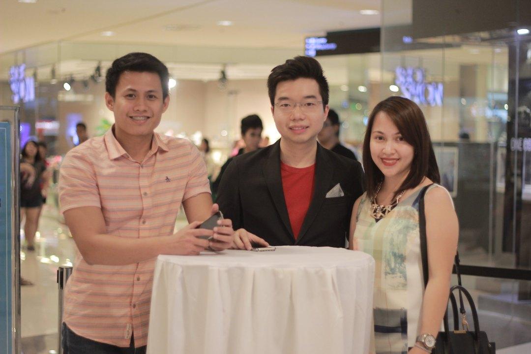 Alain Canada, Justin Pua, and Karla Gonzalvo of Original Penguin Philippines