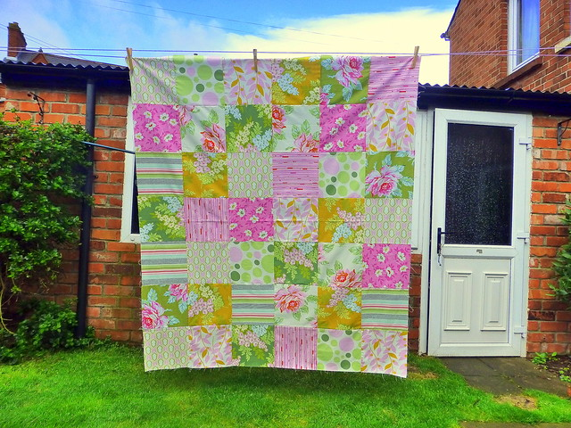 'Nicey Jane' quilt top